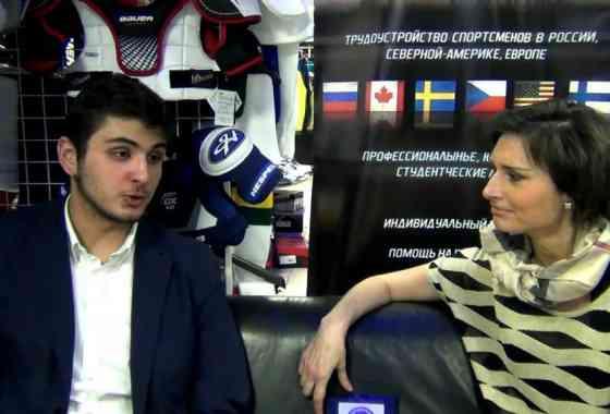 Интерьвю хоккеиста Амира Бургуева